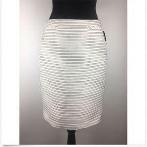 Halogen Welt Pocket Pencil Skirt Size 6 (H395)